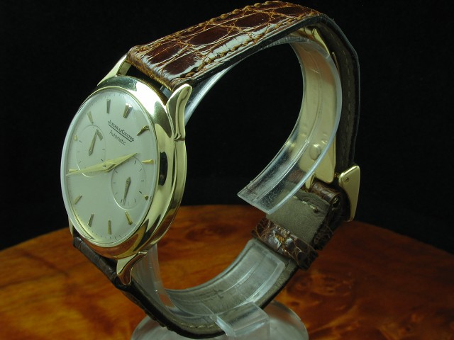 JAEGER LECOULTRE FUTUREMATIC HAMMERAUTOMATIC 9kt 375 GOLD HERRENUHR / KALIBER 497